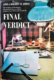 Final verdict par Adela Rogers St. Johns: Good Hardcover (1962) | Epilonian  Books
