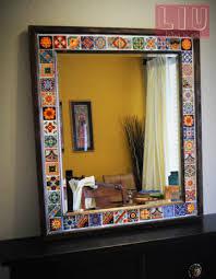 diy talavera mirror diy tile mirror