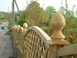 An Acorn Fence We Provide High Quality Products Such As Decorative Wooden Shelves Fence Finials Architrave Back Porch Designs Garden Gates Garden Structures