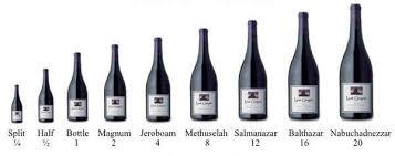 large format wine bottles