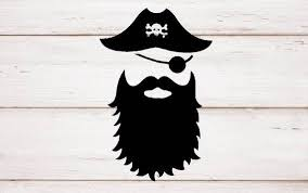 Sale Ship Pirate One Eye Beard Vinyl Decal For Cars Walls Etsy Girls Wall Stickers Vinyl Decals Bumper Stickers