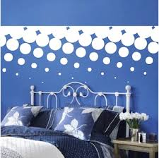 Halftone Border Wall Decal Trendy Wall Designs