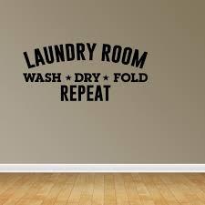 Laundry Room Decor Laundry Wall Decals Laundry Room Sign Laundry Decal Jp223 Walmart Com Walmart Com