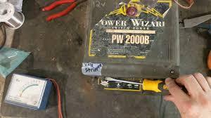 Power Wizard Pw2000b Fence Energizer Youtube