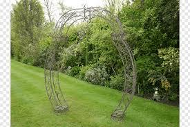 wrought iron garden arch trellis