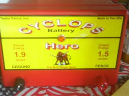 Cyclops Electric Fence Chargers