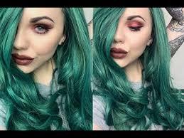 green hair makeup saubhaya makeup