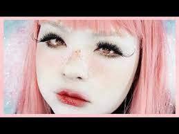 living doll makeup tutorial 白