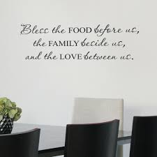 Belvedere Designs Llc Bless Food Family Love Wall Quotes Decal Reviews Wayfair
