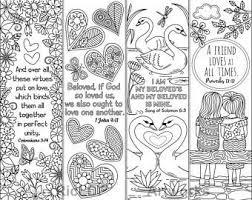 Set Van 8 Kerst Kleurplaten Bladwijzers Met Bijbel Verzen