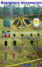 Solar Powered Electric Fence Energizer For Livestock Electric Fence System View Solar Powered Electric Fence Lanstar Product Details From Shenzhen Lanstar Technology Co Ltd On Alibaba Com