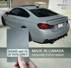 Vvivid 3mil Matte Attack Nardo Grey Vinyl Car Wrap Decal Ebay