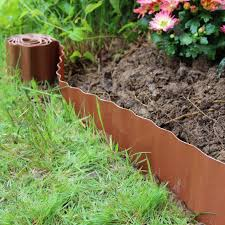 Landscaping Garden Materials Plastic Lawn Border Edging Garden Grass Edge Fence Wall Driveway Roll Path Drive Na Ribe Dk
