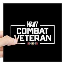Large U S Square Sticker 3 X 3 Square Bumper Sticker Car Decal 3x3 Cafepress Navy Combat Veteran Or 5x5 Small Itrainkids Com