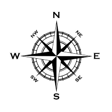 Nautical Compass Car Window Decal Compass Decal Nautical Etsy