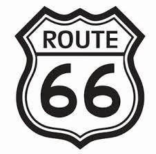 Route 66 Vinyl Die Cut Car Decal Sticker Free Shipping Ebay