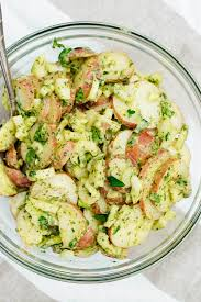 Herbed Potato Salad Recipe - Cookie and ...