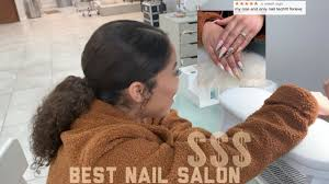going to the best rated nail salon in