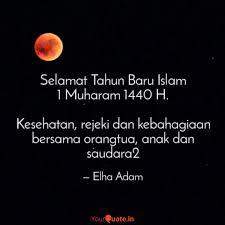 selamat tahun baru islam quotes writings by elha adam