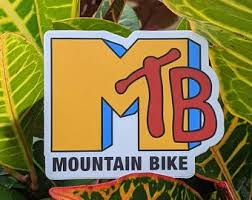 Mtb Sticker Etsy