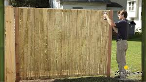 Cali Bamboo Fencing 6ft X 8ft Natural 1 Inch Diameter Cali Bamboo Bamboo Fence Garden Fence Panels Fence Decor