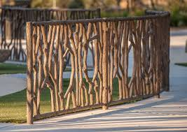Tree Branch Playground Fence Durable Decorative Concrete Fence Decor Garden Fence Unique Gardens