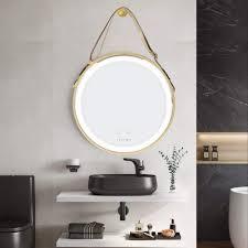 illuminated wall mounted vanity makeup