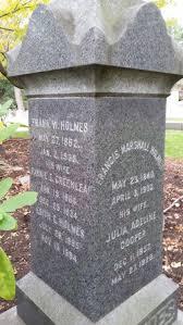 Julia Adeline Cooper Holmes (1840-1928) - Find A Grave Memorial