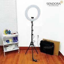 Đèn phun xăm, spa, nối mi LED Ring Light RL-480 (Màu hồng) » Đèn phun xăm,  đèn tròn spa giá rẻ