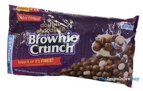 double chocolate brownie crunch cereal