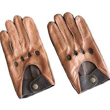 men s leather breathable driving gloves