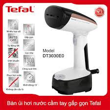 Bàn ủi cầm tay gấp gọn Tefal DT3030E0 công xuất 1300W - Hàng chính hãng,  bảo hành 24 tháng - 1,155,000