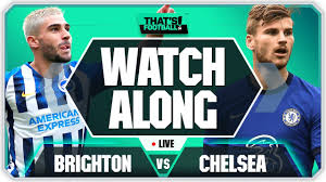 BRIGHTON vs CHELSEA LIVE Watchalong With Mark Goldbridge - YouTube