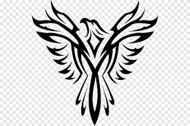 Phoenix Symbol Mexican Eagle Tribal Legendary Creature Leaf Png Pngegg