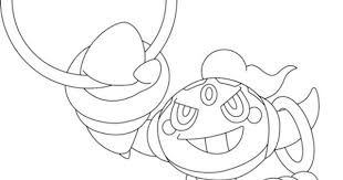 Click To See Printable Version Of Hoopa Pokemon Coloring Page