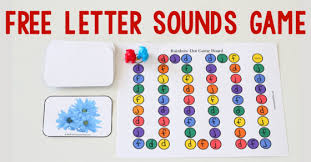 free letters and sounds game the