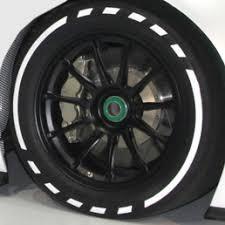 Sidewall Design Tire Stickers Full Kits Corvette Mods