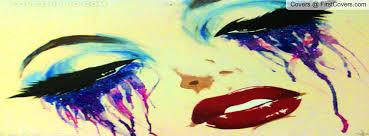 tears eyes makeup facebook profile