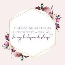 83 bridesmaid es and sayings