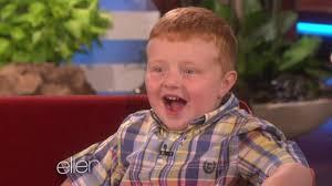 Apparently,' viral video star Noah Ritter really loves dinosaurs