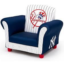 Mlb New York Yankees Delta Children Kids Upholstered Chair Bed Bath Beyond
