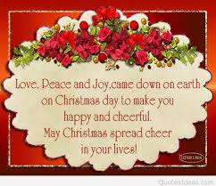 peace and love for christmas and new year quotes