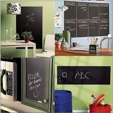 Shop Black Chalkboard Write On Removeable Vinyl Wall Sticker Overstock 13189510