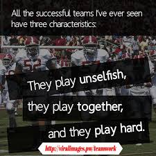 a teamwork quote a day
