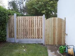 Tk Fencing Hit And Miss Panels On Concrete Post And Kick Facebook