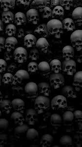 480x854 horror skulls scary creepy