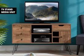 oak effect furniture units wowcher