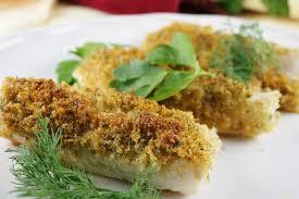 Cod with Italian Crumb Topping Recipe ...
