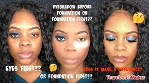 jamiiiiiiiie foundation before
