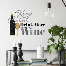 Shop Keep Calm And Drink Wine Quote Wall Decals In 2020 Keep Calm And Drink Wall Quotes Decals Drinking Wine Quotes